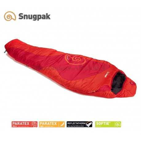 Sac de couchage Snugpak Chrysalis 5 rouge