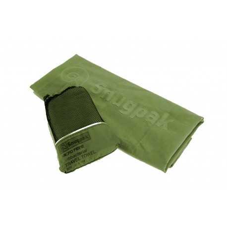 Serviette microfibre antibactérienne Snugpak 80x124 cm