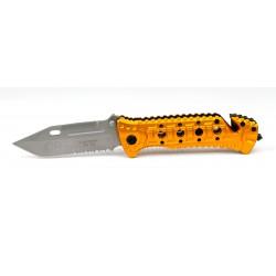 Couteau de poche Herbertz Secours orange