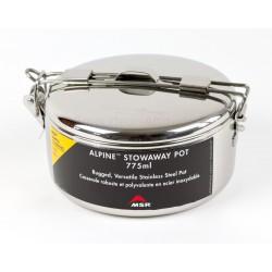 Casserole inox Alpine MSR 775ml