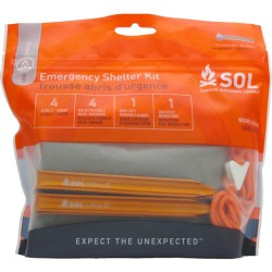 Kit abris d'urgence Emergencie Shelter Kit SOL