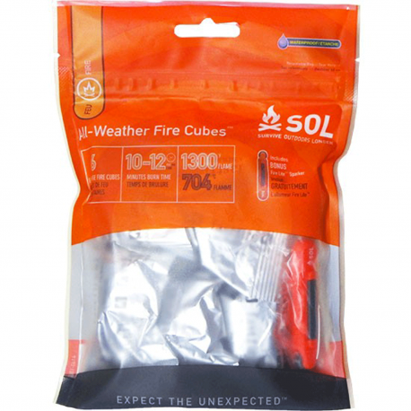 SOL All-Weather Fire Cubes™ allumes feux