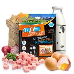 MX3 Aventure Pâtes à la Carbonara Lyophilisé