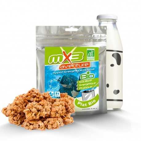 MX3 Aventure Muesli Energie Nature Bio Lyophilisé