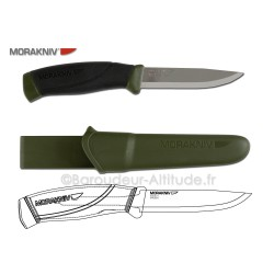 Couteau Mora Companion MG carbon
