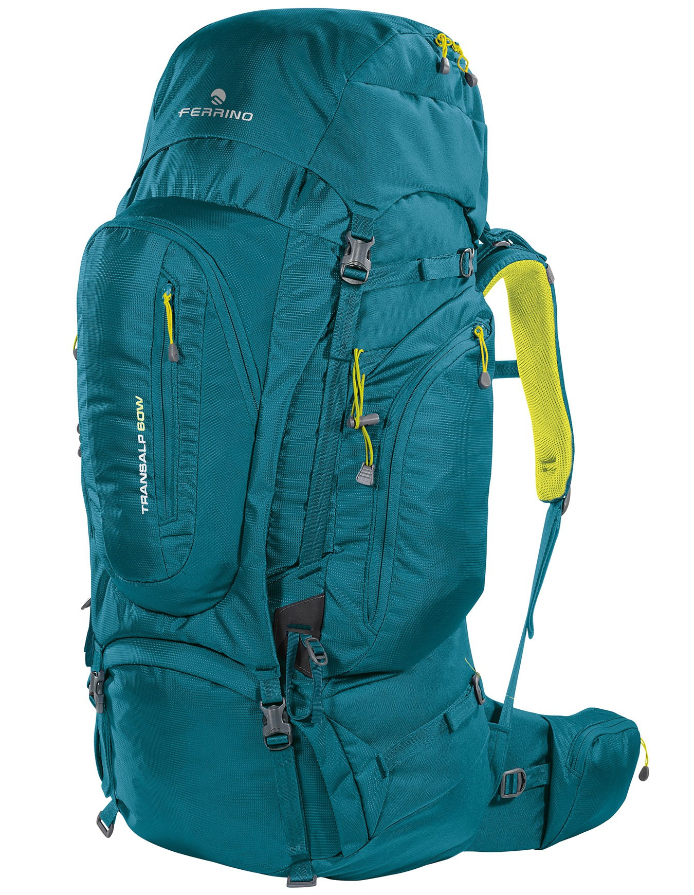 Transalp 60L Lady Ferrino - Sac à dos femme Trekking Randonnée