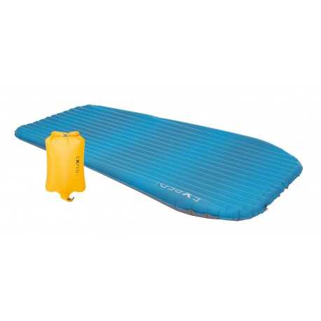 Matelas gonflable AirMat Hyper Lite Duo Exped + Sac Pompe Schnozzel UL