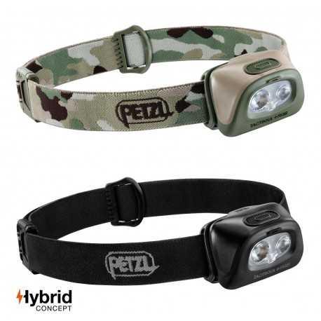 Lampe frontale TACTIKKA+ RGB Hybrid 350 lumens Petzl