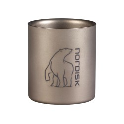 Titanium Mug Double Wall 220ml Nordisk