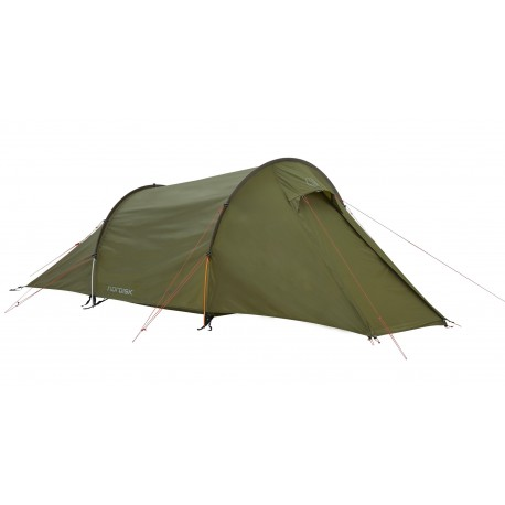 Nordisk Halland 2 PU Dark Olive - Tente 2 places