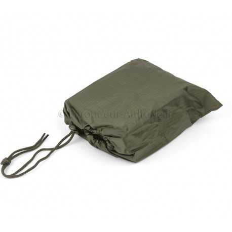 Poncho 210 x 150 cm nylon ripstop vert